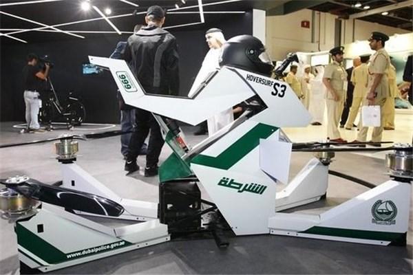 لامبورگینی و بوگاتی را فراموش کنید!!! با جدیدترین وسیله حمل و نقل پلیس دبی آشنا شوید، هاوربایک!