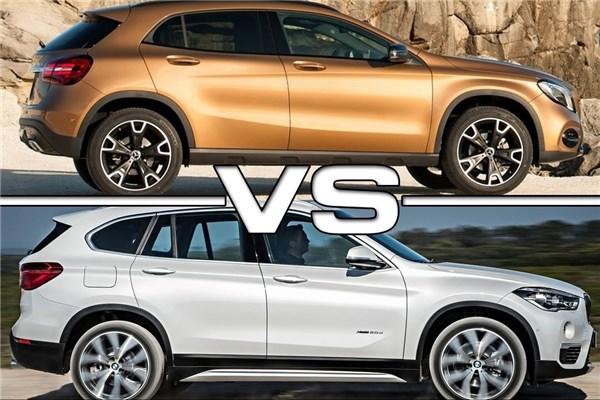 مقایسه مرسدس بنز GLA و BMW X۱