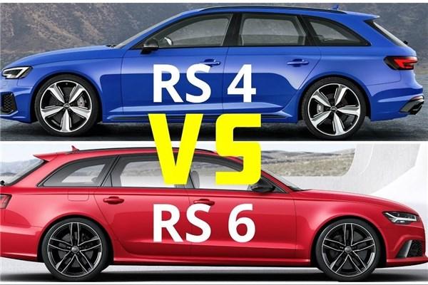 مقایسه خودروهای Rs۴ و Rs۶ ؛ پیشروهای آئودی در برابر هم
