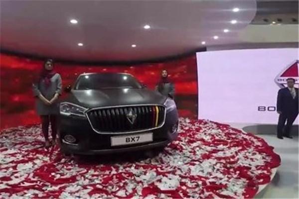 اختصاصی خودرونما - رونمایی از برند آلمانی بورگوارد توسط کیان موتور وارنا در نمایشگاه خودرو تهران