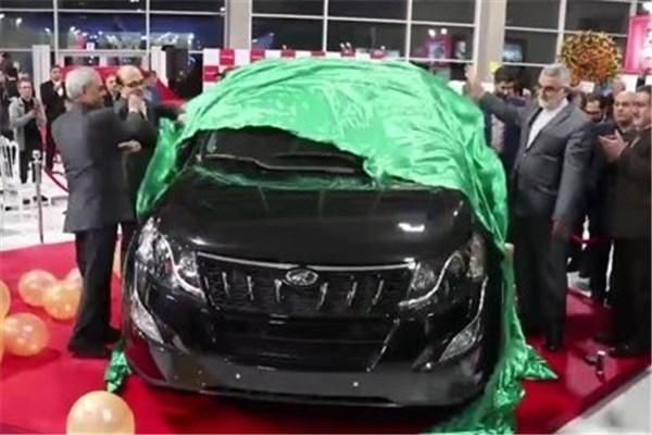 اختصاصی خودرونما - رونمایی محصولات ماهیندرا توسط شرکت صنایع تولیدی عظیم خودرو در نمایشگاه خودرو تهران