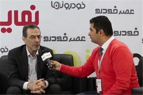 اختصاصی خودرونما - مصاحبه  با رزازی مدیرعامل شرکت ستاره ایران در حاشیه نمایشگاه خودرو تهران