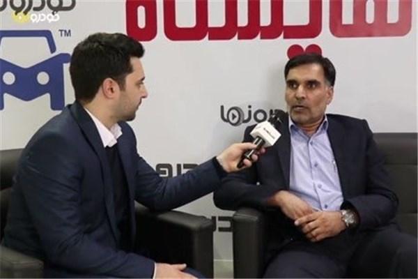 اختصاصی خودرونما - مصاحبه با گنجی مدیرعامل ریگان خودرو در حاشیه نمایشگاه خودرو تهران