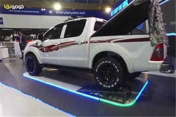 اختصاصی خودرونما - نگاهی به غرفه ایران خودرو در نمایشگاه خودرو تهران