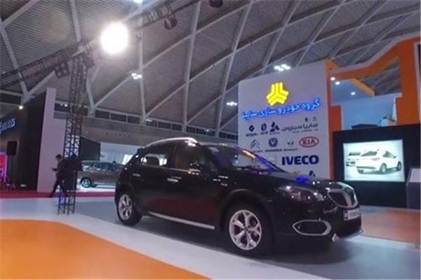 اختصاصی خودرونما - نگاهی به   غرفه سایپا در نمایشگاه خودرو تهران