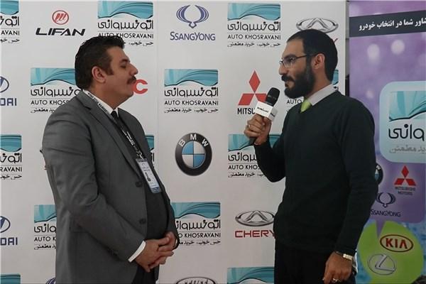 اختصاصی خودرونما ، مصاحبه  با علی خسروانی مدیر مجموعه اتوخسروانی