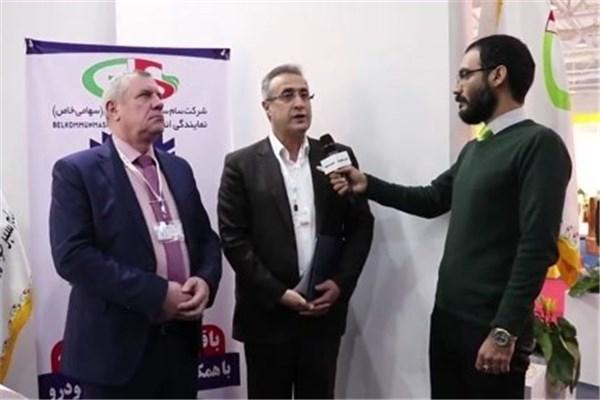 اختصاصی خودرونما - مصاحبه با ابراهیم پور مدیرعامل سام سبز خودرو ایرانیان - شهاب خودرو در نمایشگاه حمل و نقل تهران