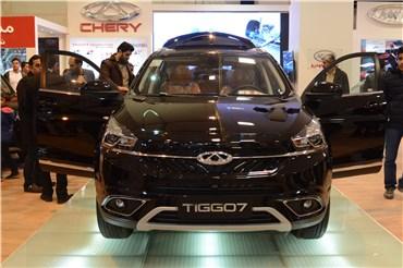 اختصاصی خودرونما؛ نگاهی به خودروی تیگو ۷ در هشتمین نمایشگاه خودروی کرمان