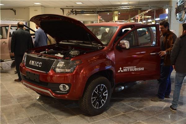 اختصاصی خودرونما؛ نگاهی به غرفه محصولات آمیکو در هشتمین نمایشگاه خودروی کرمان