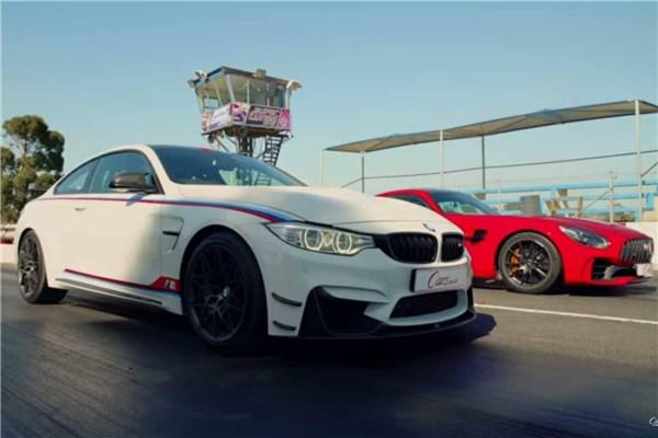 جدال نفس گیر درگ بین BMW M۴ DTM و Mercedes AMG GTR - قسمت دوم