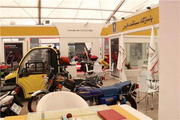اختصاصی خودرونما - ایران رایدکس: نگاهی به غرفه پاسارگاد سیکلت فارس