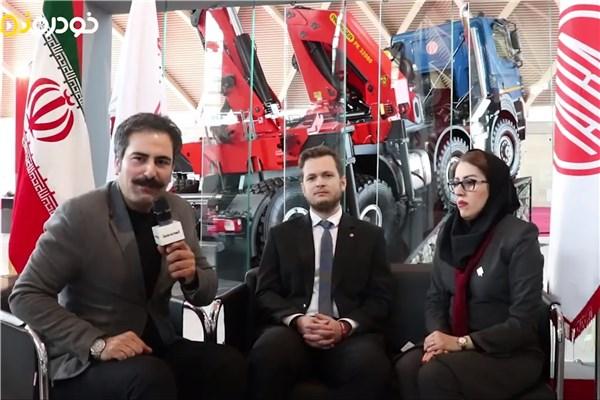 اختصاصی خودرونما ؛ مصاحبه با داچکا مدیر توسعه بازار و فروش شرکت تاترا در خاورمیانه ؛ در حاشیه نخستین نمایشگاه بینالمللی ماشینآلات راهسازی و راهداری، معدنی و دیزل تهران