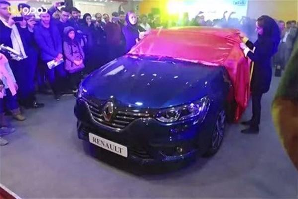 اختصاصی خودرونما - نمایشگاه خودرو اصفهان : رونمایی رنو مگان در غرفه نگین خودرو