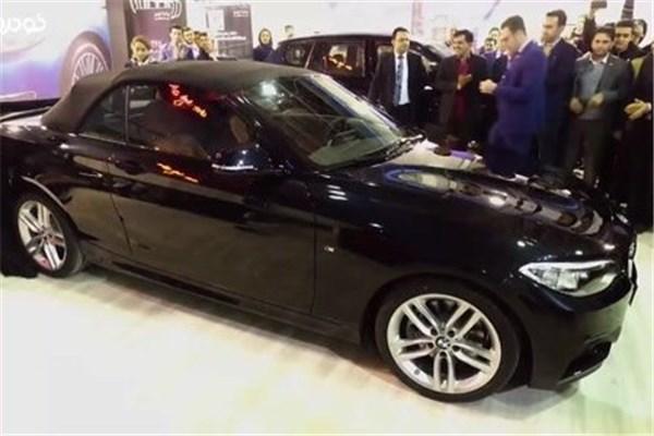 اختصاصی خودرونما - نمایشگاه خودرو اصفهان : رونمایی از ب ام و سری ۲ کانورتبل در غرفه شرکت پرشیا خودرو