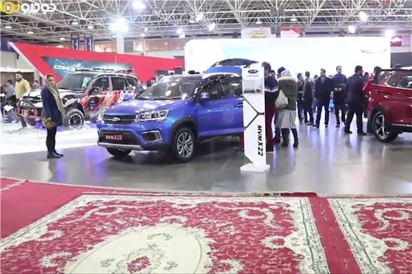 اختصاصی خودرونما - نمایشگاه خودرو اصفهان : نگاهی به غرفه مدیران خودرو