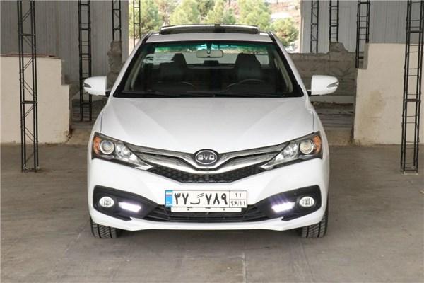 اختصاصی خودرونما - تست رانندگی سدان BYD F۳ محصول کارمانیا در تهران