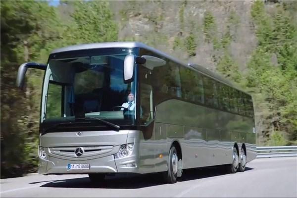 مراسم رونمایی از اتوبوس جدید مرسدس بنز new coach Tourismo RHD و نگاهی به تجهیزات و امکانات آن