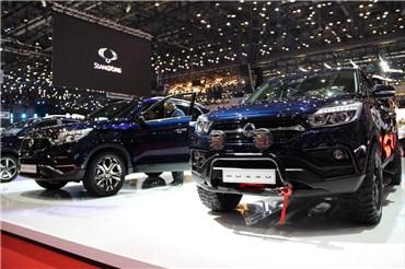 اختصاصی خودرونما - موتور شو ژنو۲۰۱۸ : نگاهی به غرفه سانگ یانگ
