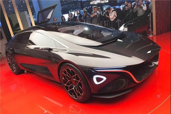 موتور شو ژنو ۲۰۱۸ : بررسی کامل کانسپت رویایی استون مارتین به نام Lagonda Vision concept