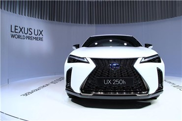 موتور شو ژنو ۲۰۱۸ : کنفرانس خبری لکسوس و رونمایی از کراس اوور کوچک UX