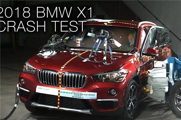 تست تصادف BMW X۱ مدل ۲۰۱۸؛ محبوب و ایمن