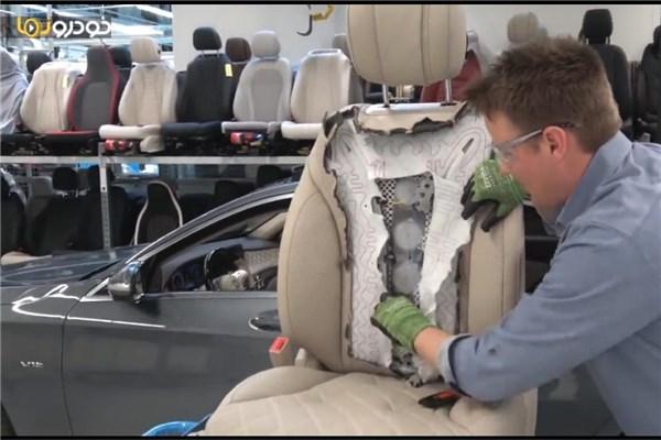 ویدیو جالب جراحی صندلی ها! داخل صندلی های لوکس مرسدس بنز S کلاس چه می گذرد؟!