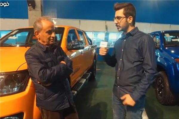 رییس هیات مدیره آمیکو در گفت و گوبا خودرونما : پیکاپ آمیکو قابلیت صادرات به اروپا را دارد