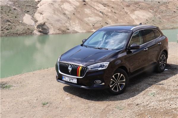 اختصاصی خودرونما؛ تجربه رانندگی با نخستین محصول بورگوارد در ایران؛ BX۷