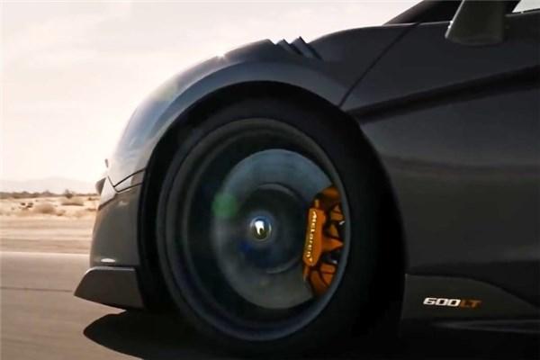 ویدیوی زیبا از مک لارن ۶۰۰LT جدید؛ سفر به مرز بی نهایت
