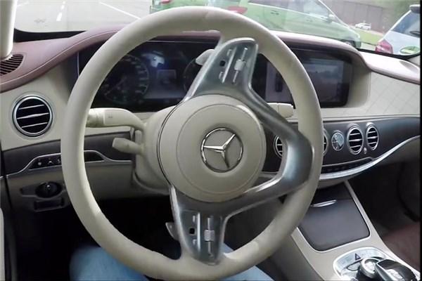 رانندگی هوشمند با مرسدس بنز S-Class