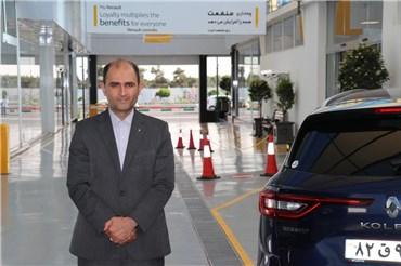 گفتگو با مهندس علی افراسیابی، رییس تعمیرگاه شعبه مرکزی غرب شرکت نگین خودرو