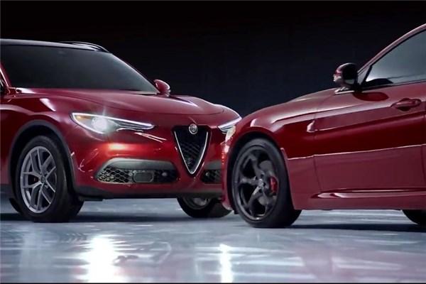 ویدیو زیبای پاتیناژ آلفارومئو Stelvio و Giulia