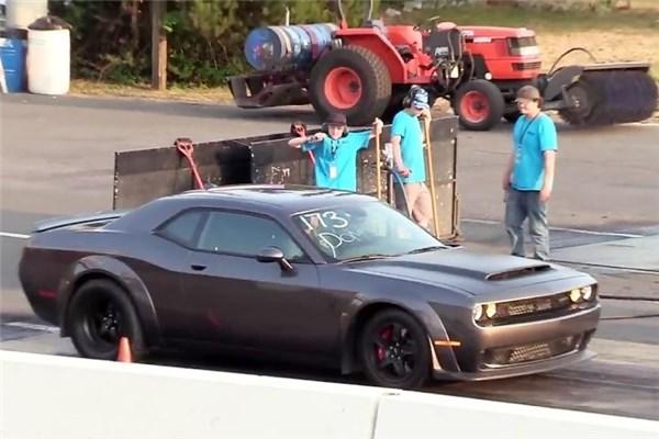 درگ دو مدعی Dodge Demon و Shelby GT۵۰۰