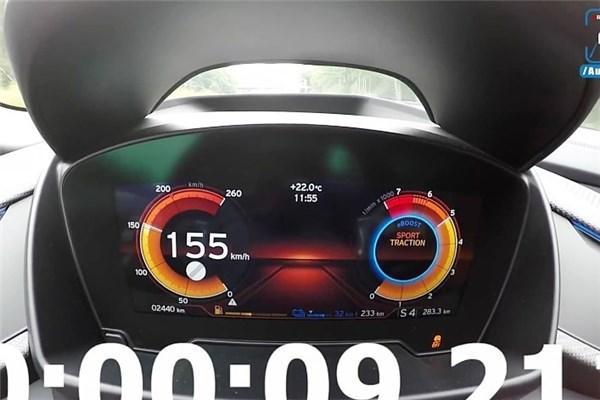 شتابگیری صفر تا صد و ۲۵۵ ب ام و i۸ رودستر مدل ۲۰۱۹