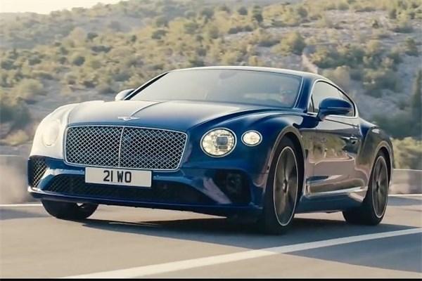 طراحی زیبای بنتلی Continental GT جدید