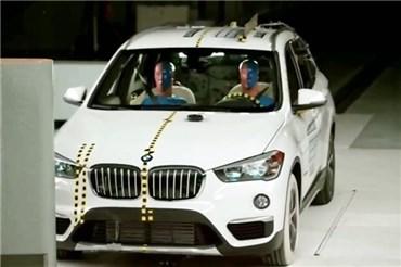 تست تصادف BMW X۱ مدل ۲۰۱۸