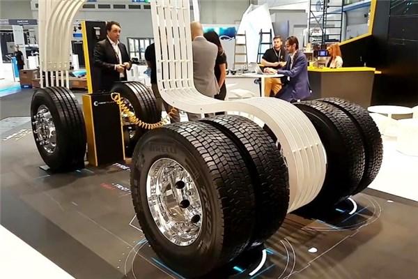 نمایشگاه IAA ۲۰۱۸(نه) : نگاهی به غرفه پیرلی در نمایشگاه خودروهای تجاری آلمان