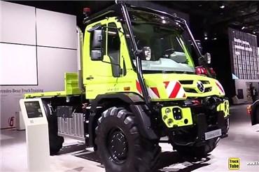 نمایشگاه IAA ۲۰۱۸(پانزده) : نسخه جدید کامیون همه جا رو مرسدس بنز