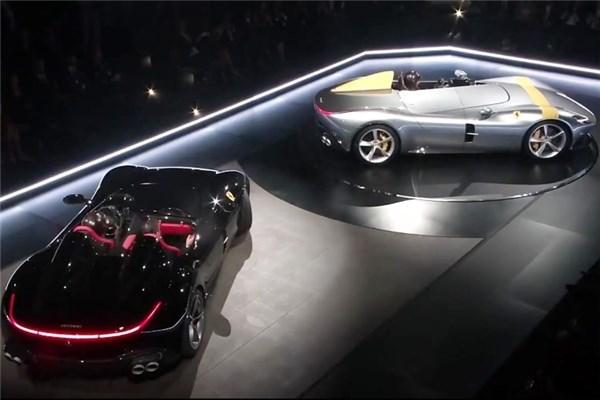 نمایشگاه خودرو پاریس (۲) : فراری های ۲.۹ ثانیه ای