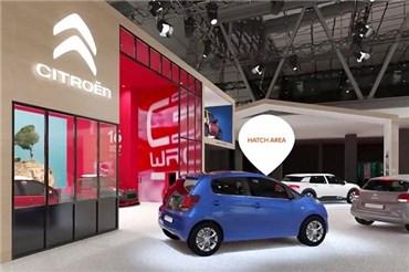 نمایشگاه خودرو پاریس (۸): غرفه سیتروئن را در نمایشگاه خودرو پاریس ببینید