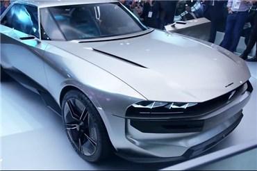 نمایشگاه خودرو پاریس (۱۲): نمایش کانسپت جنجالی پژو در پاریس
