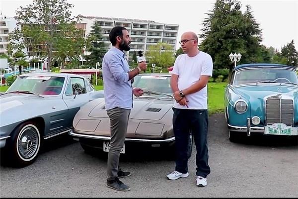 مصاحبه با مدیر اجرایی کمیته کلاسیک فدراسیون در حاشیه رالی کلاسیک تهران تا خزر