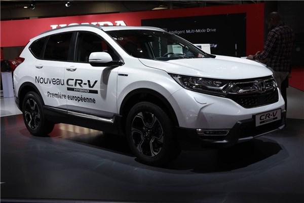 نمایشگاه خودرو پاریس (۲۳): هوندا CR-V هایبرید شد