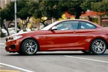 نمایش بی نظیر دریفت با BMW