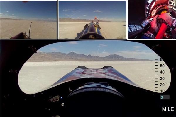 رکوردشکنی با سرعت ۸۱۰ کیلومتر بر ساعت