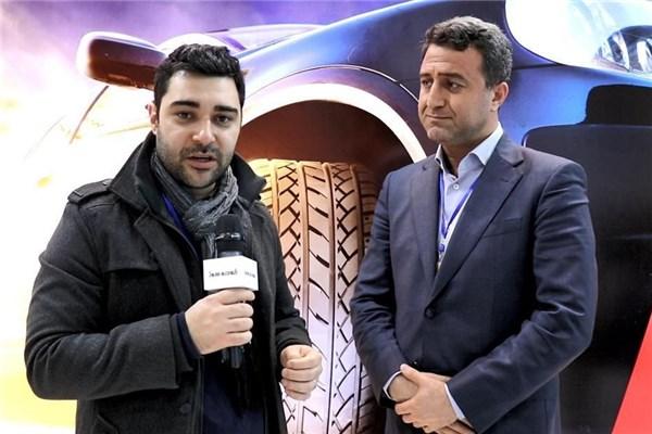 مصاحبه با ذوالفقاری مدیر بازاریابی منطقه ای بارز در نمایشگاه قطعات خودرو ۹۷