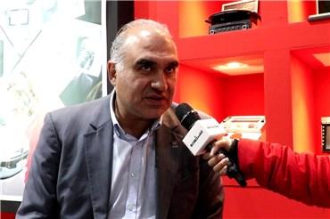 گفتگو با کیوان وزیری مدیرعامل شرکت آپکو در نمایشگاه قطعات خودرو ۹۷
