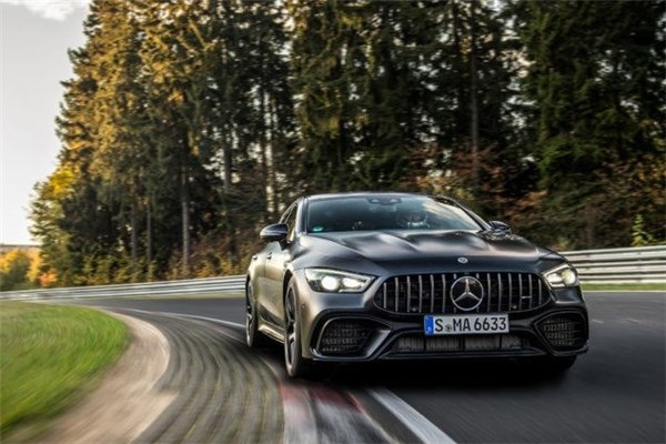 رکورد Mercedes-AMG GT ۴-Door Coupé در نوربرگ رینگ
