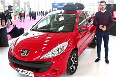 نگاهی به ۲۰۷ SD سفارشی در غرفه آپکو در نمایشگاه خودرو تهران ۹۷