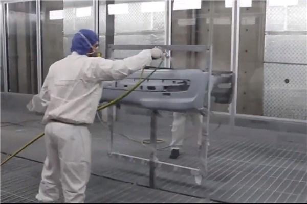 گزارش ویدیویی آیین افتتاح خط رنگ قطعات پلیمری شرکت سروصنعت سپاهان